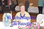 80.Geb. Lilo Hausotter
