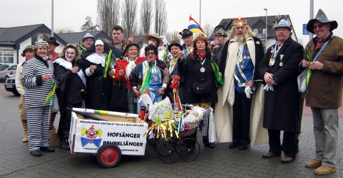 Faschingsumzug 2012 Maintal Dörnigheim